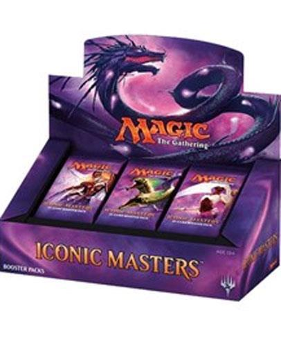 Купить Magic the Gathering Iconic Masters New Factory Sealed Booster Box